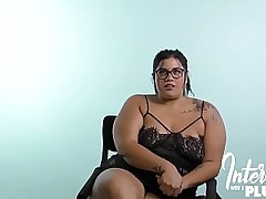 Spanish BBW Babe Late The..