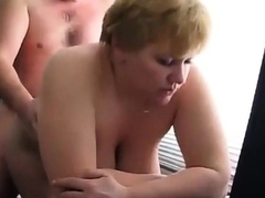 Fuck fat mature fro the office