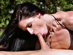 India Summer and her husband..